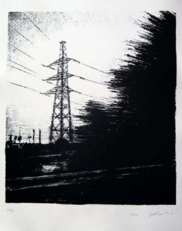 Lithographie Marin - Pylône