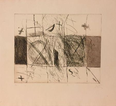 Eau-Forte Et Aquatinte Tàpies - Quadrats i grafismes