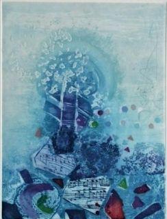 Eau-Forte Et Aquatinte Engel - Quartet 1