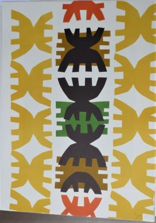 Lithographie Capogrossi - Quarzo 3
