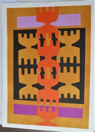 Lithographie Capogrossi - Quarzo 4