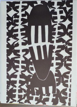 Lithographie Capogrossi - Quarzo 7