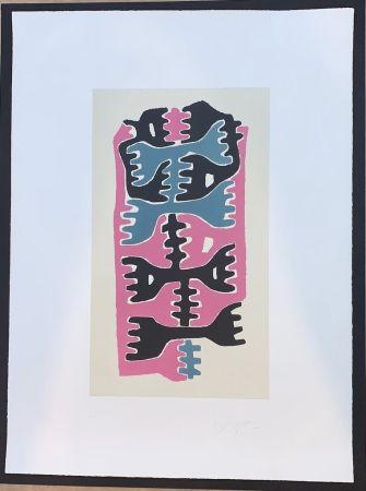 Lithographie Capogrossi - Quarzo 9