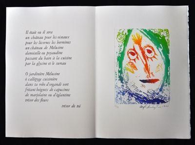 Livre Illustré Pedersen - Quatre chanson pour une château de Puisaye