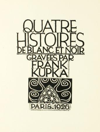 Gravure Sur Bois Kupka - Quatre histoires de blanc et noir