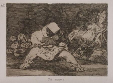 Gravure Goya - QUE LOCURA!