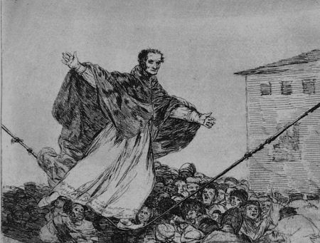 Eau-Forte Et Aquatinte Goya - Que rompe al cueda