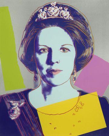 Sérigraphie Warhol - Queen Beatrix of the Netherlands (FS II.340)