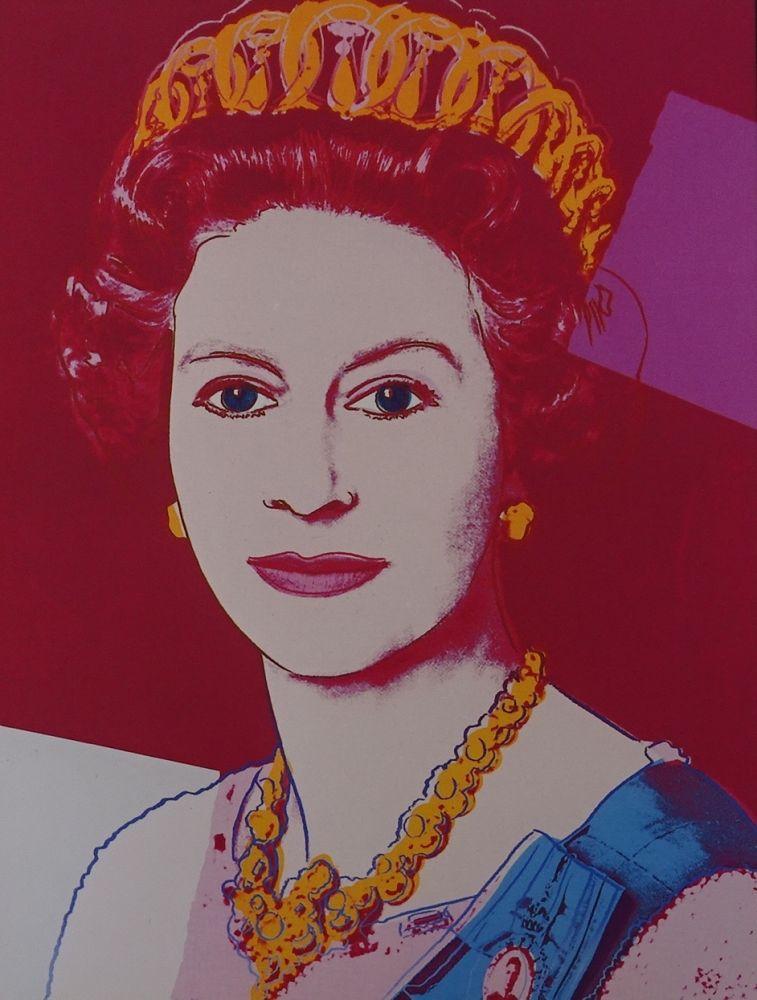 Sérigraphie Warhol - Queen Elizabeth II
