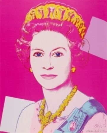 Serigraphie De Andy Warhol Queen Elizabeth Ii Of The United Kingdom 336 By Andy Warhol Sur Amorosart