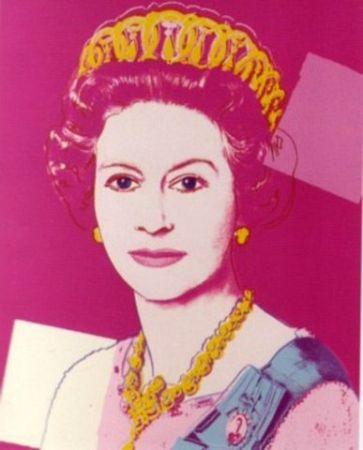 Sérigraphie Warhol - Queen Elizabeth II of the United Kingdom II.336A