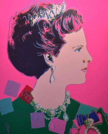 Sérigraphie Warhol - Queen Margrethe II of Denmark (FS II.345)