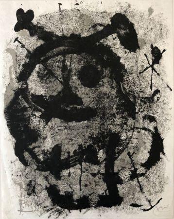 Lithographie Miró - Quelques fleurs pour des amis