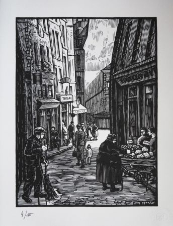 Gravure Sur Bois Moreau - QUIMPER (Bretagne) / QUIMPER (Brittany - France) - 1910
