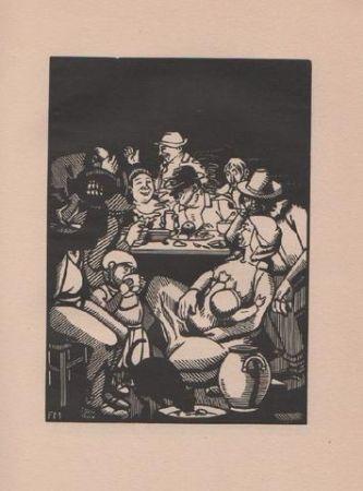 Livre Illustré Masereel - Quinze Poèmes