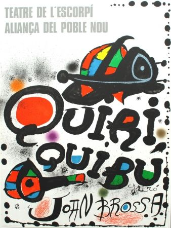 Lithographie Miró - Quiriquibú
