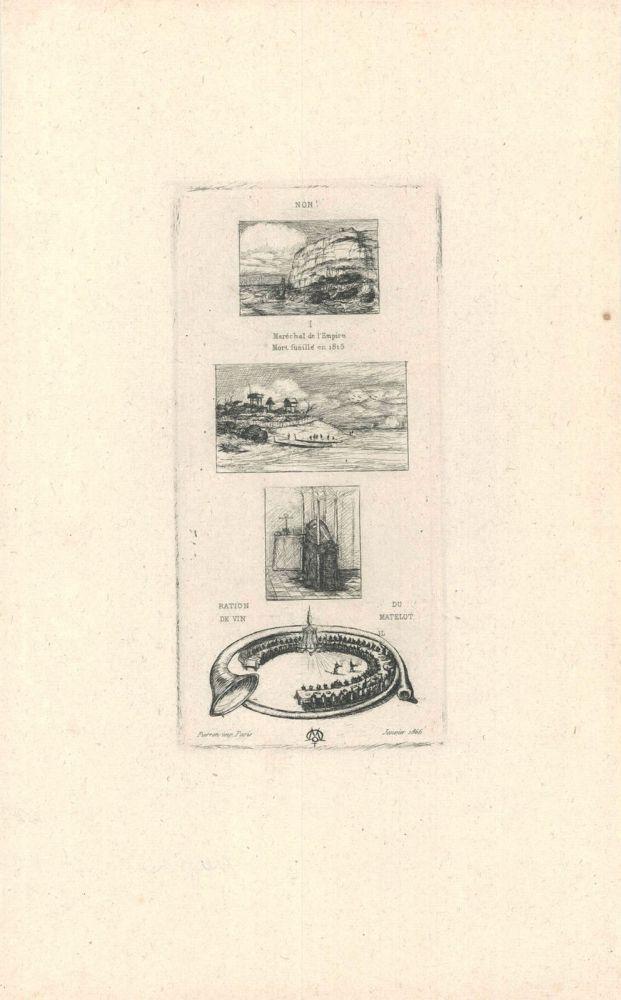 Gravure Meryon - Rébus:  (
