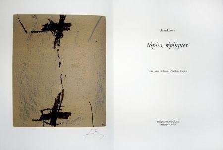 Livre Illustré Tàpies - Répliquer