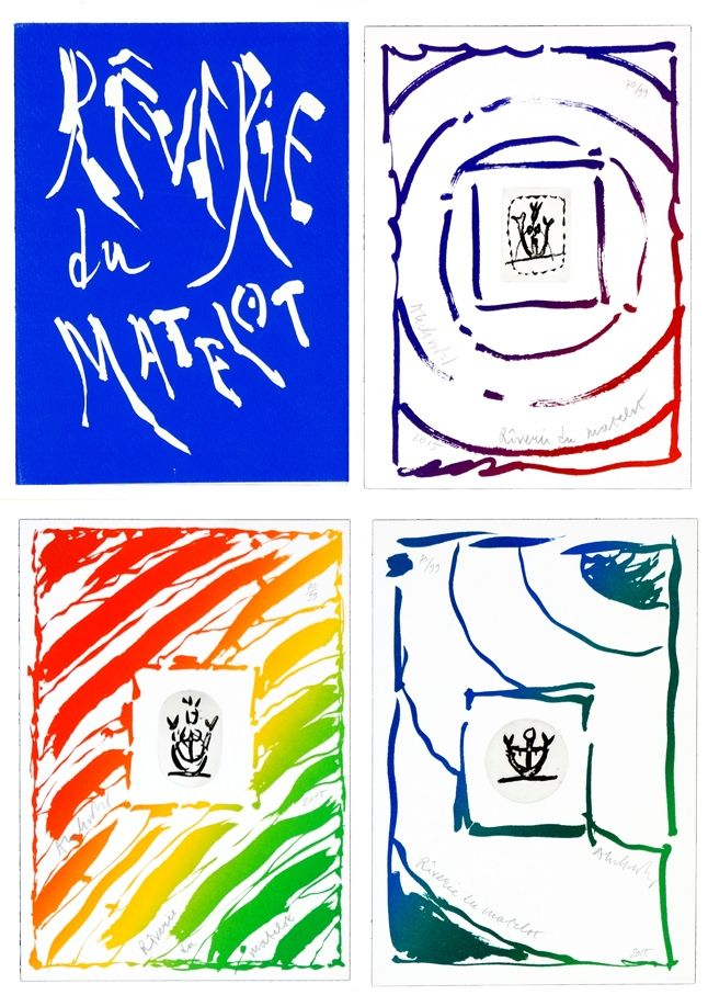 Gravure Alechinsky - Rêverie du Matelot