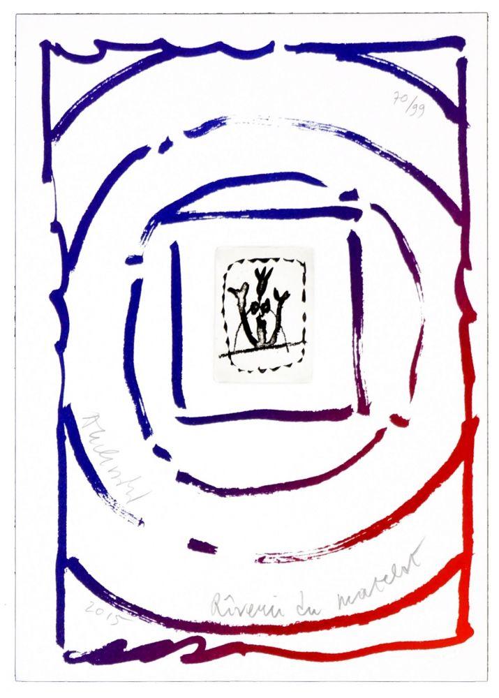 Gravure Alechinsky - Rêverie du matelot I