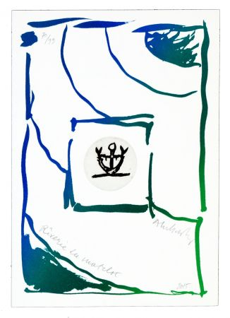 Gravure Alechinsky - Rêverie du matelot III