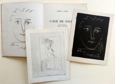 Livre Illustré Picasso - R.-J. Godet : L'AGE DE SOLEIL. Gravures de Pablo Picasso (1950).