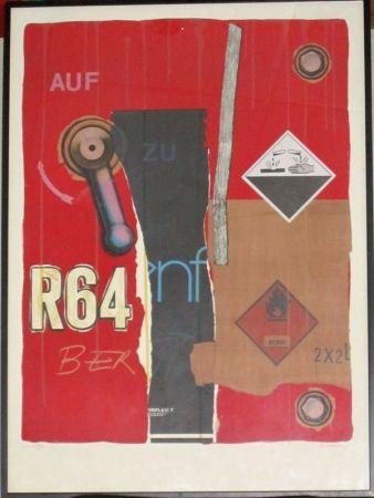 Lithographie Klasen - R 64