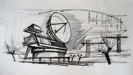 Lithographie Buffet - Radar Station, Siemens