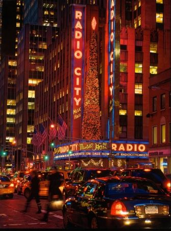 Sérigraphie Cone - Radio City