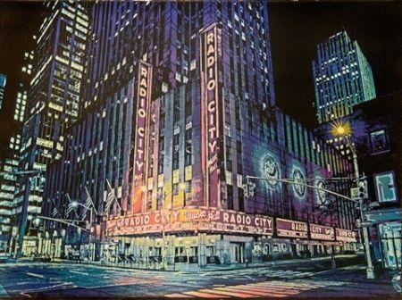 Pochoir Hicks - Radio City Music Hall