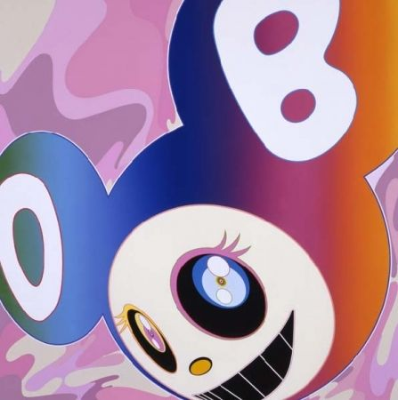 Estampe Numérique Murakami - Rainbow dob