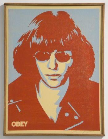 Sérigraphie Fairey - Ramone Canvas