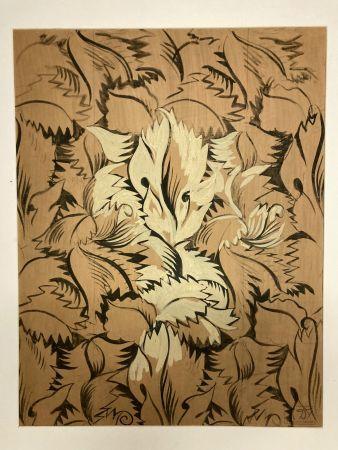 Aucune Technique Dufy - Raoul Dufy (1877-1953). Sans titre. Encre,gouache et aquarelle.
