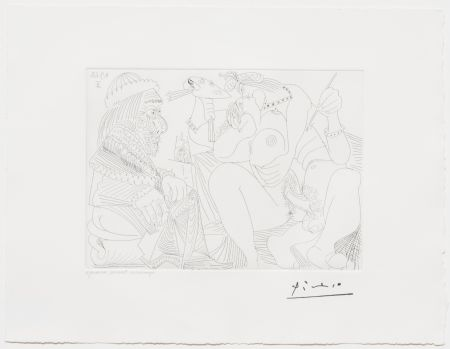 Aucune Technique Picasso - Raphael et la Fornarina XVI