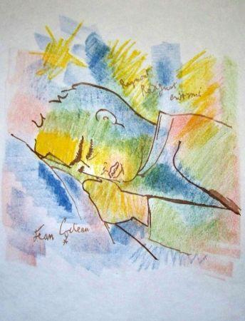 Lithographie Cocteau - Raymond radiguet