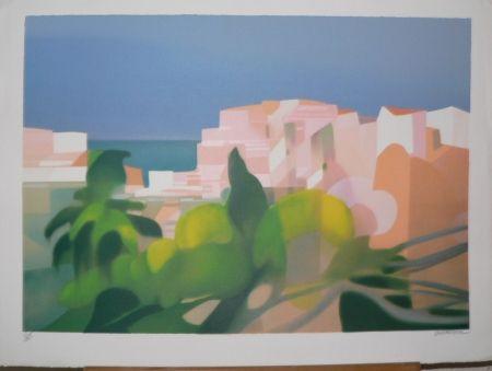 Lithographie Defossez - Rayon de soleil.