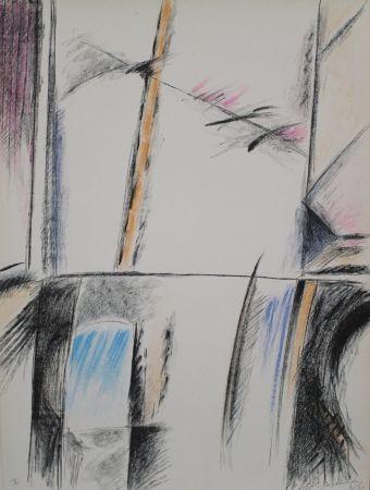 Lithographie Ràfols Casamada - RC-3