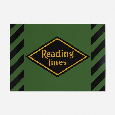 Sérigraphie Cottingham - Reading Lines