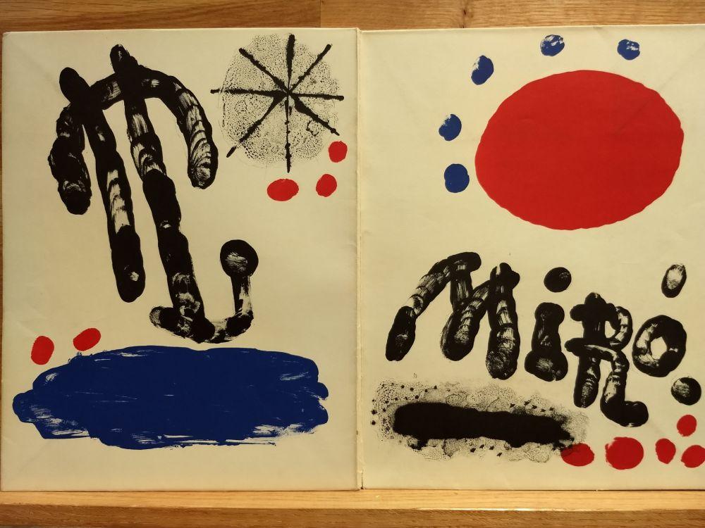 Livre Illustré Miró (After) - Recent paintings