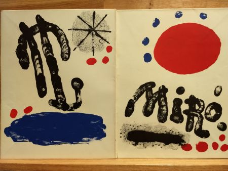 Livre Illustré Miró (After) - Recent paintings