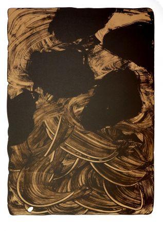 Lithographie Tøjner - Recherche de formes dispersées VIII
