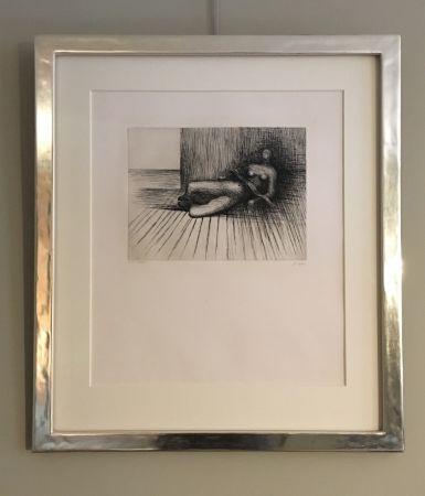 Gravure Moore - Reclining Figure