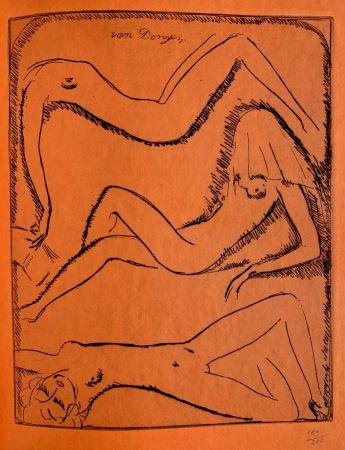Gravure Van Dongen - Reclining Nudes
