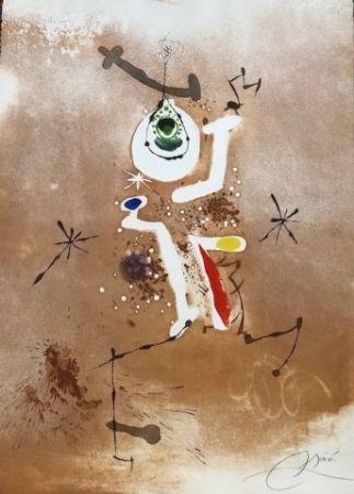 Eau-Forte Et Aquatinte Miró - Record d' una fuga de Bach