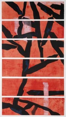 Eau-Forte Et Aquatinte Wang - Red