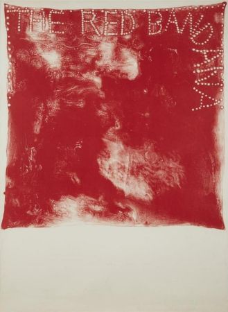 Lithographie Dine - Red Bandana