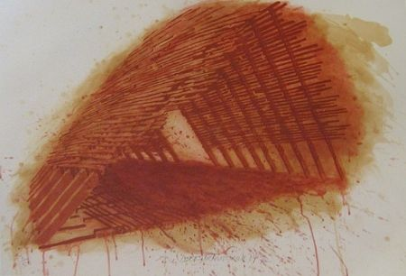 Lithographie Stackhouse - Red Encounterings