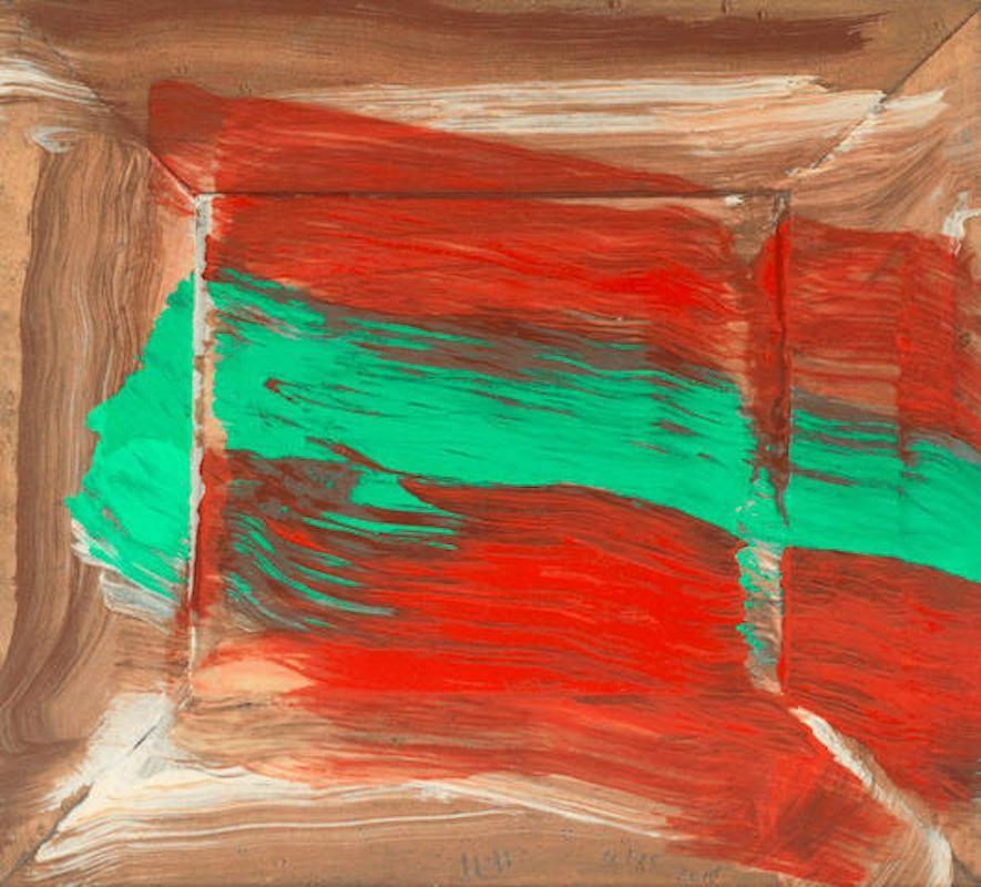 Sérigraphie Hodgkin - Red Flowers
