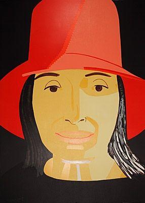 Gravure Sur Bois Katz - Red Hat Ada