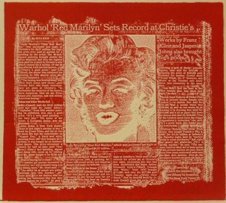 Gravure Anastasi - Red Marilyn